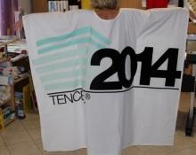 Textildruck für XXXL T-shirt