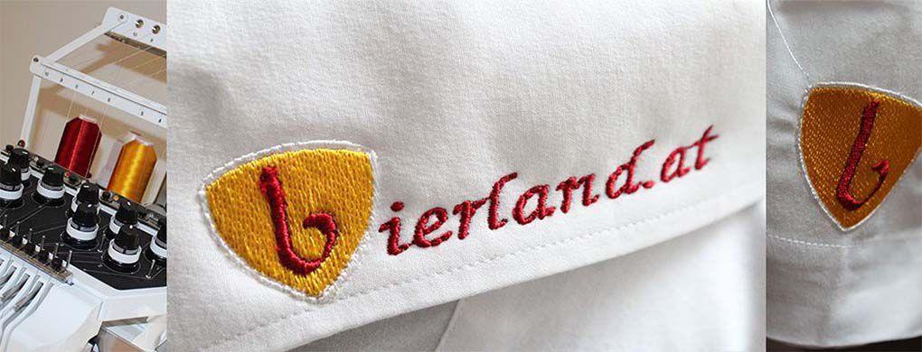 Stickerei, Abzeichen, Aufnäher, Logo Stickerei