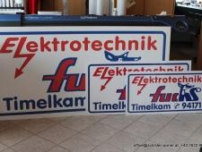 FirmenSchilder Elektrotechnik