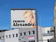 FirmenSchilder Friseur