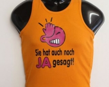 t shirt bedrucken orange