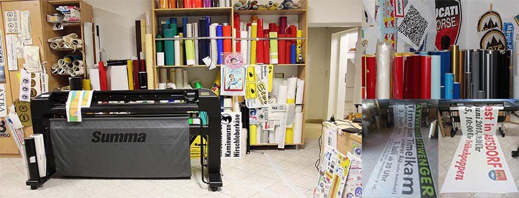 digitaldruck, aufkleber, foliendruck, posterdruck, etiketten drucken