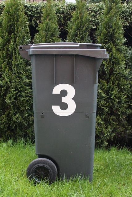 Mülltonnenaufkleber, mülltonnen beschriftung, Aufkleber Bioabfuhrplan 2016, Mülltonnenaufkleber Voecklabruck